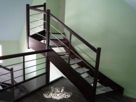 Académie de la Menuiserie - Escalier moderne sans contre-marches
