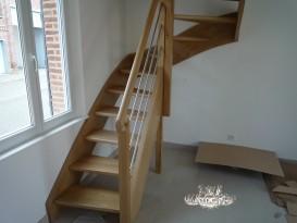 Académie de la Menuiserie Escalier contemporain
