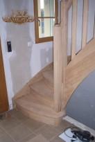 Académie de la Menuiserie Escalier, noyau en forme