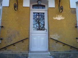 Académie de la Menuiserie Porte après rénovation