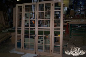 Académie de la Menuiserie Fenêtre petits bois rapportés