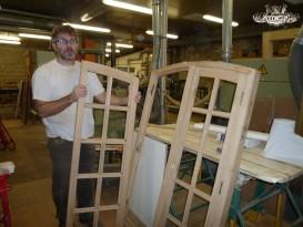 Académie de la Menuiserie Fenêtre petits bois massifs